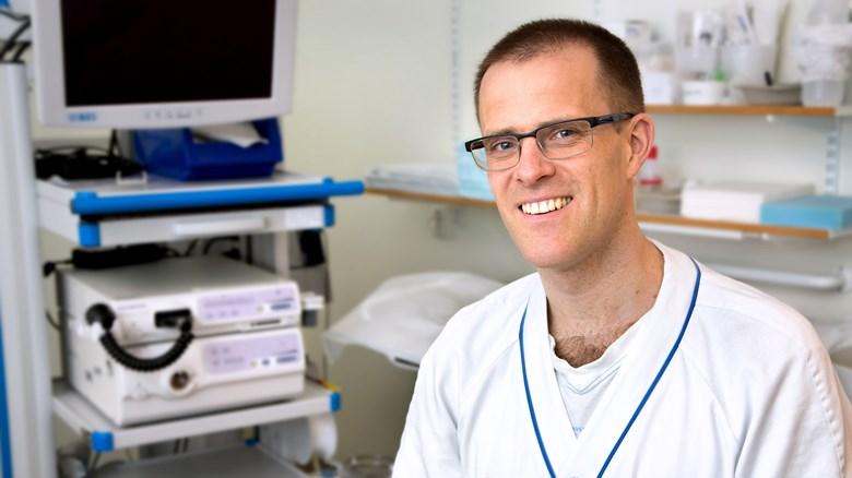 Erik Haraldsson, överläkare på kirurgkliniken vid Skaraborgs Sjukhus Skövde.