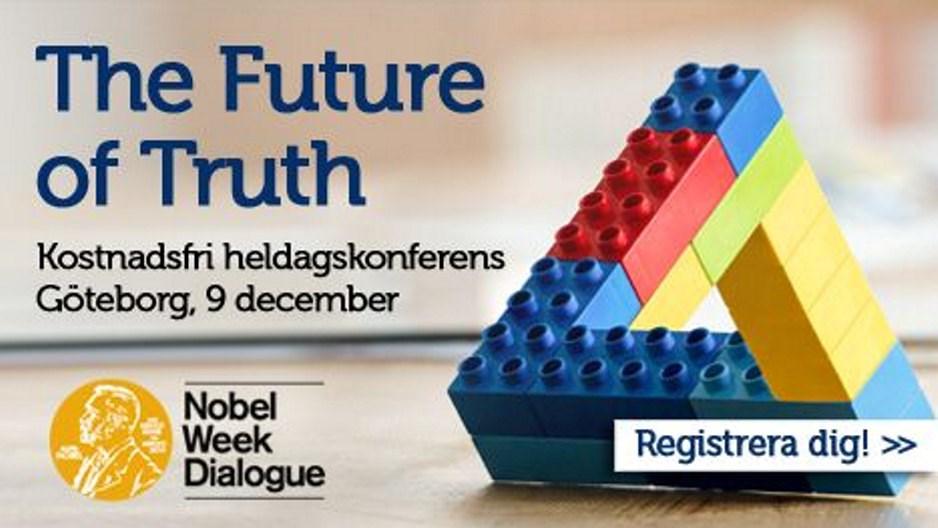 Nobel Week Dialogue I Göteborg Västra Götalandsregionen