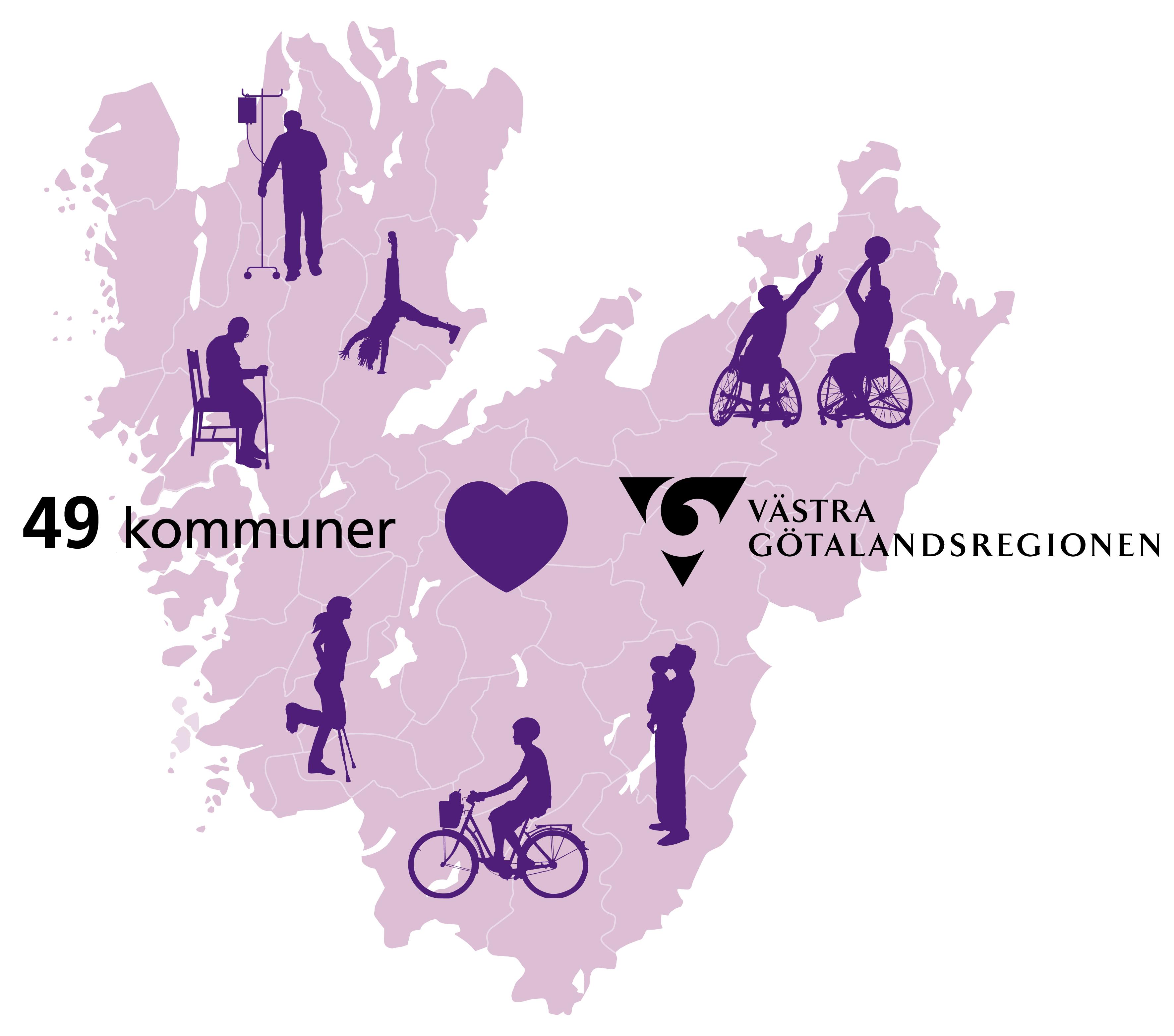 Rosa Sidan Västra Götaland